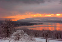 Marilena Point Winter, Keuka Lake